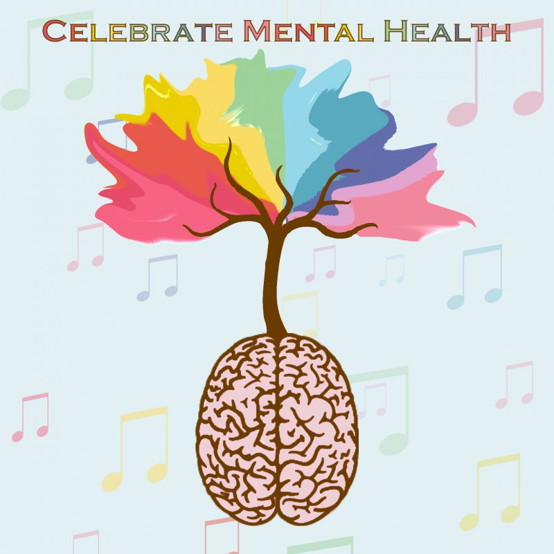 Tulane Celebrate Mental Health Festival 2018 Logo