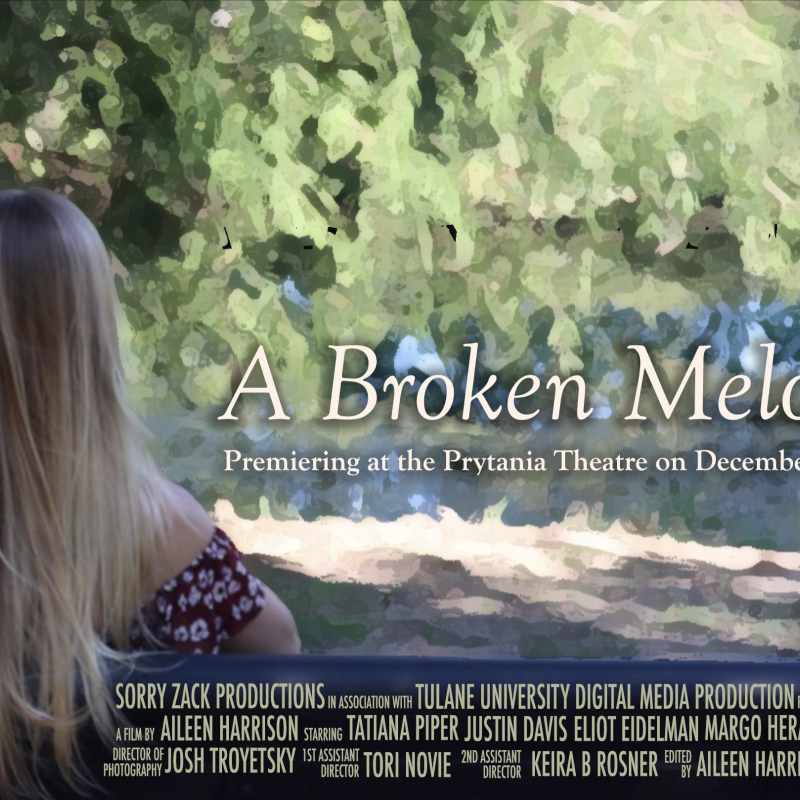 """A Broken Melody"" Official Poster"